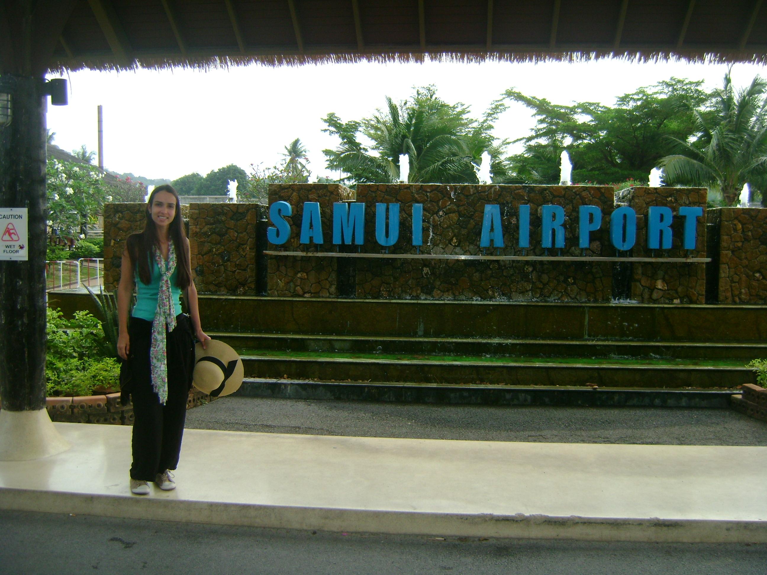 Aeroporto Koh Samui : Tail ndia koh samui mundo do turista